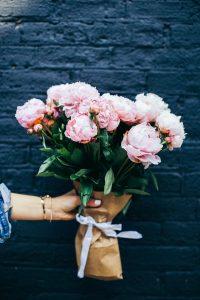 levering af blomster på Valentinsdag